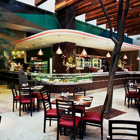Mobiliario comercial diseo fabricacin e instalacin de for Mobiliario para cafes