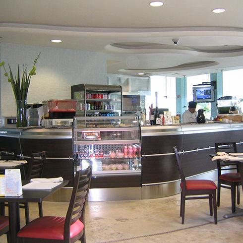 Mobiliario comercial diseo fabricacin e instalacin de - Mobiliario de cafeteria ...
