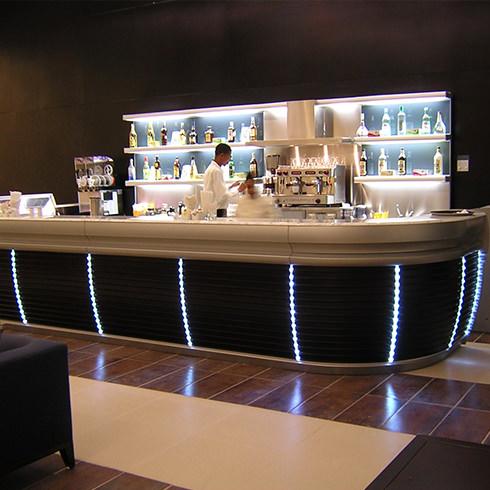 Mobiliario comercial diseo fabricacin e instalacin de equipo y mobiliario en diversos espacios - Mobiliario de bares ...